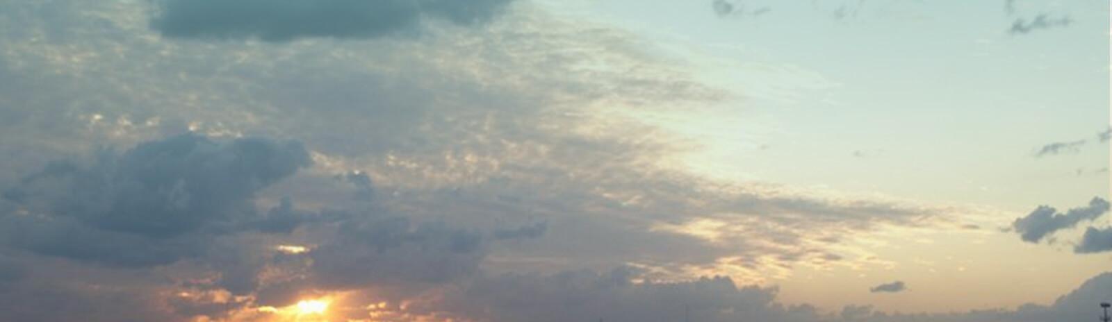 Southampton sky